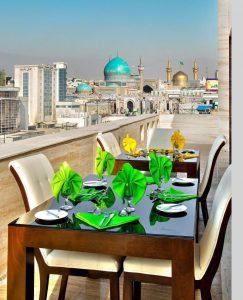 هتل های خیابان امام رضا مشهد هتل جواهر شرق