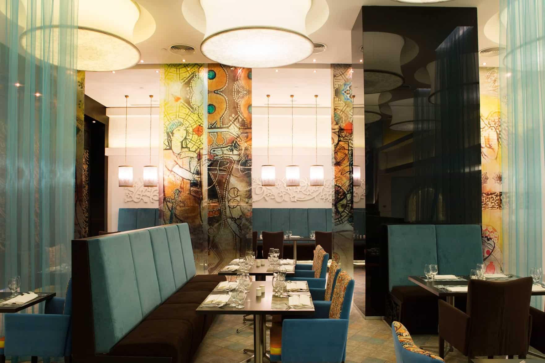 رستوران های هتل نووتل