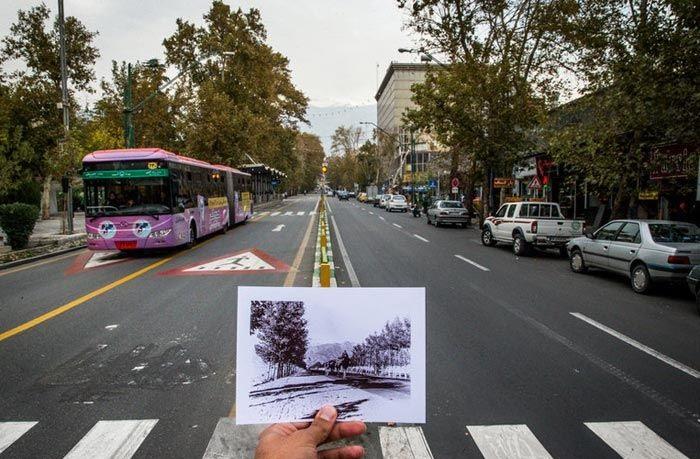 تجربه جابامایی: سفر به تهران پیش از انقلاب