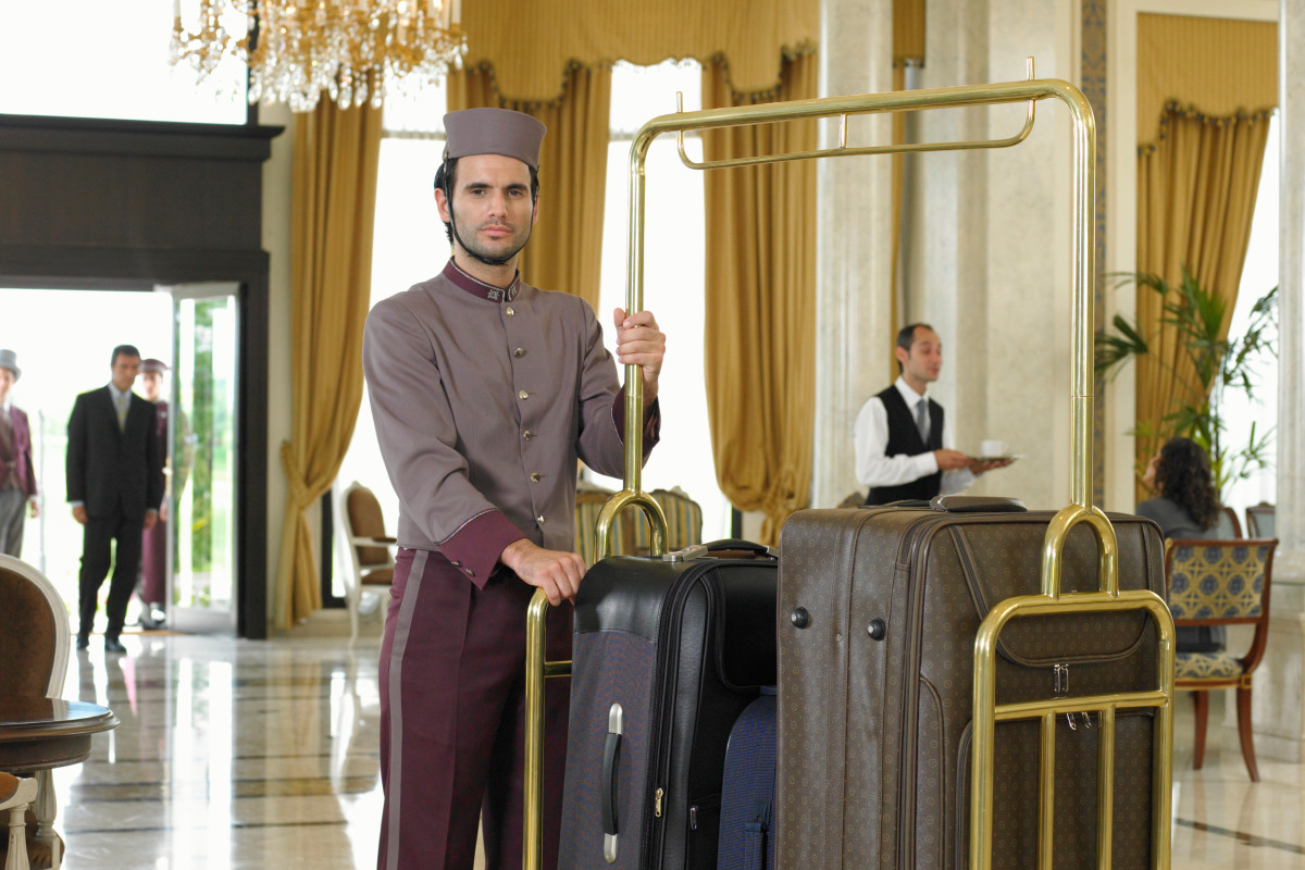 انعام در هتل در ترکیه