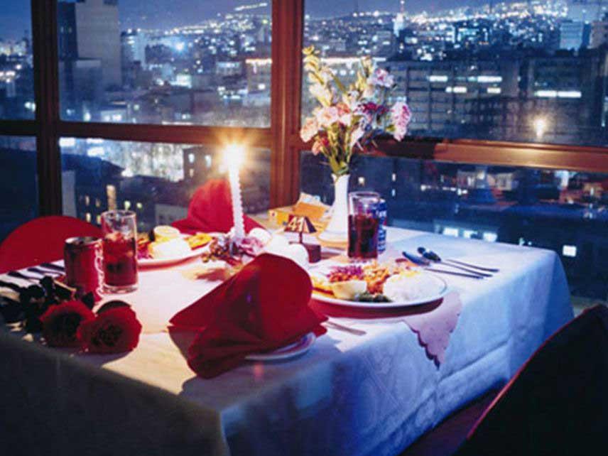 رستوران گردان هتل انقلاب تهران