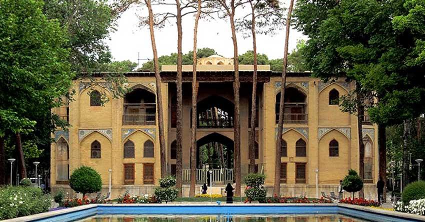 هشت بهشت اصفهان دیدنی های اصفهان