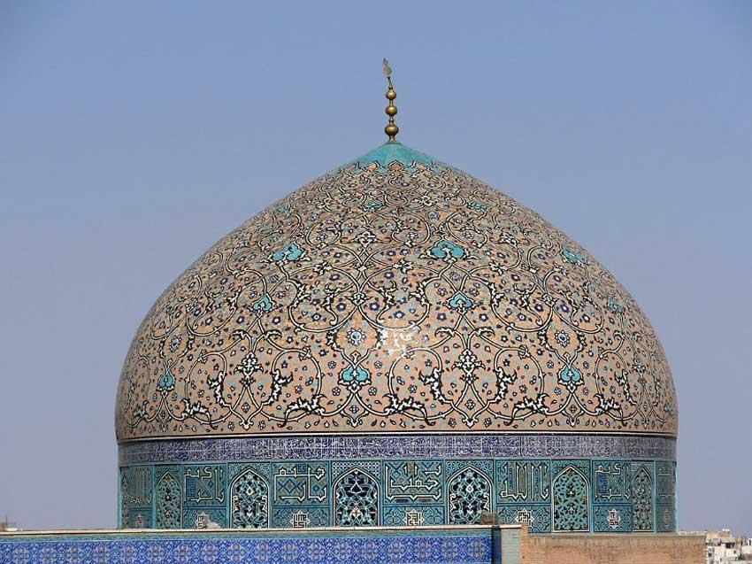 مسجد شیخ لطف الله جاهای دیدنی اصفهان