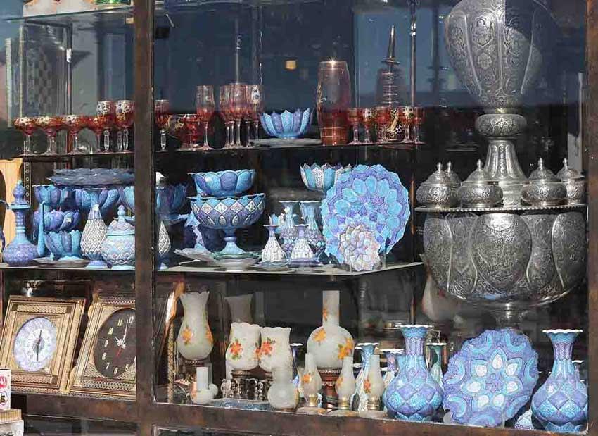 مغازه های نقش جهان اصفهان دیدنی های اصفهان
