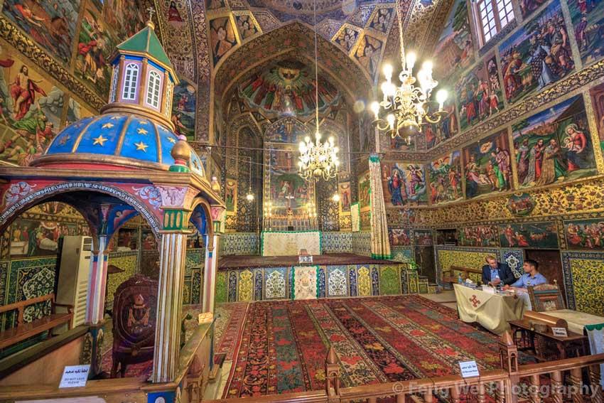 کلیسای وانک اصفهان مکان های دیدنی اصفهان