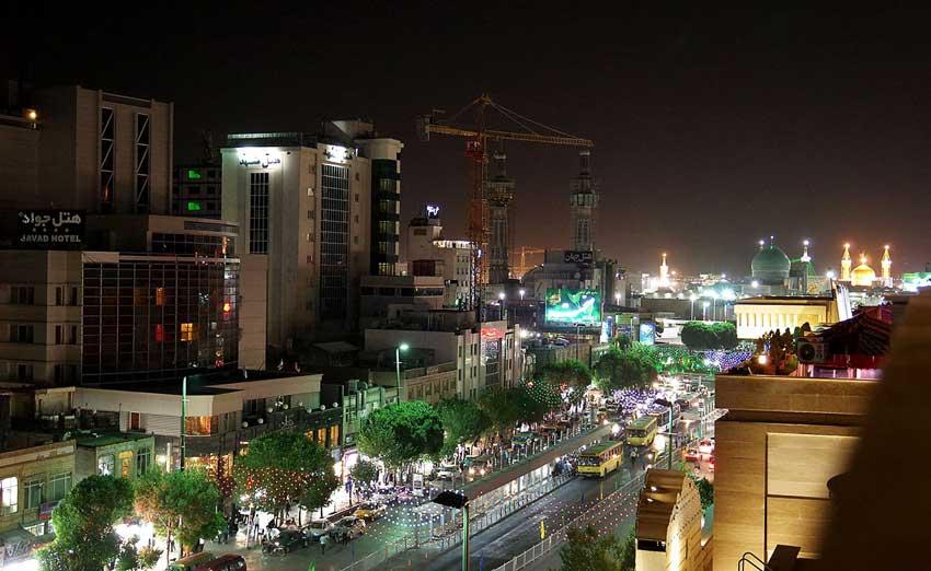 شبگردی در مشهد