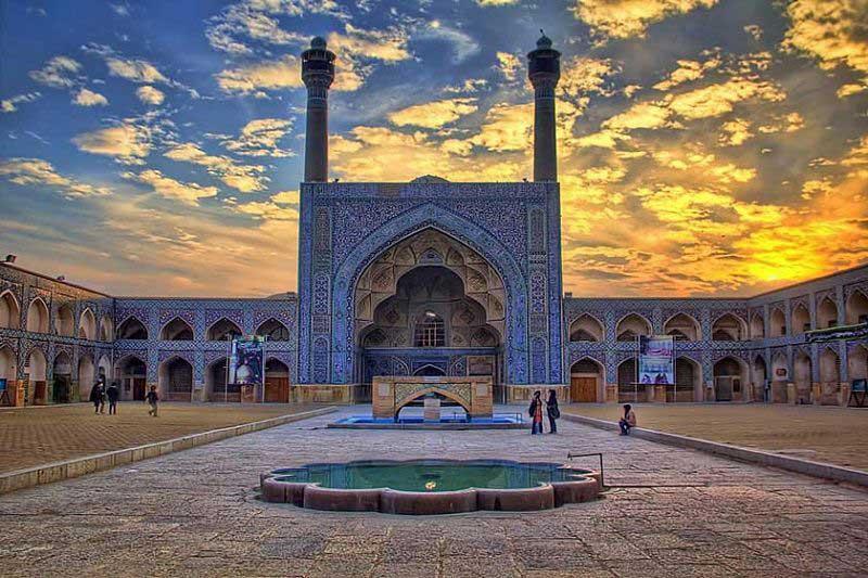 مسجد جامع اصفهان آثار تاریخی اصفهان