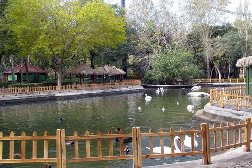 پارک ناژوان اصفهان جاذبه های گردشگری اصفهان