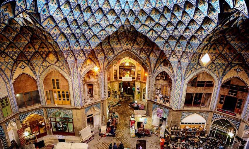 بازار قیصریه اصفهان دیدنی های اصفهان