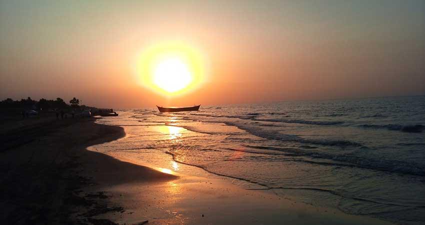 دریای مازندران_ساری_ ایران