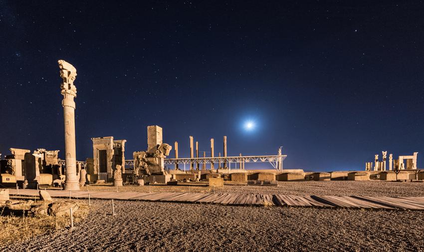 شهرهای باستانی ایران تخت جمشید