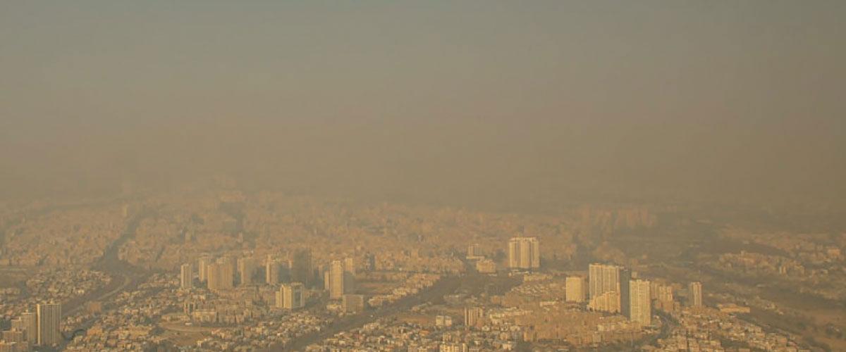 شاخص آلودگی هوا تهران
