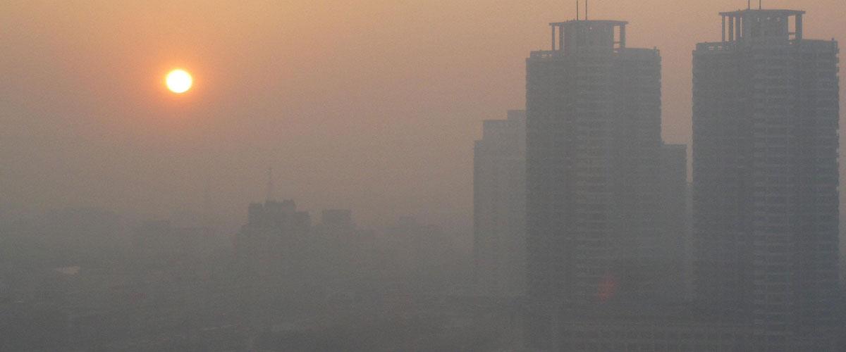 شاخص آلودگی هوا همدان