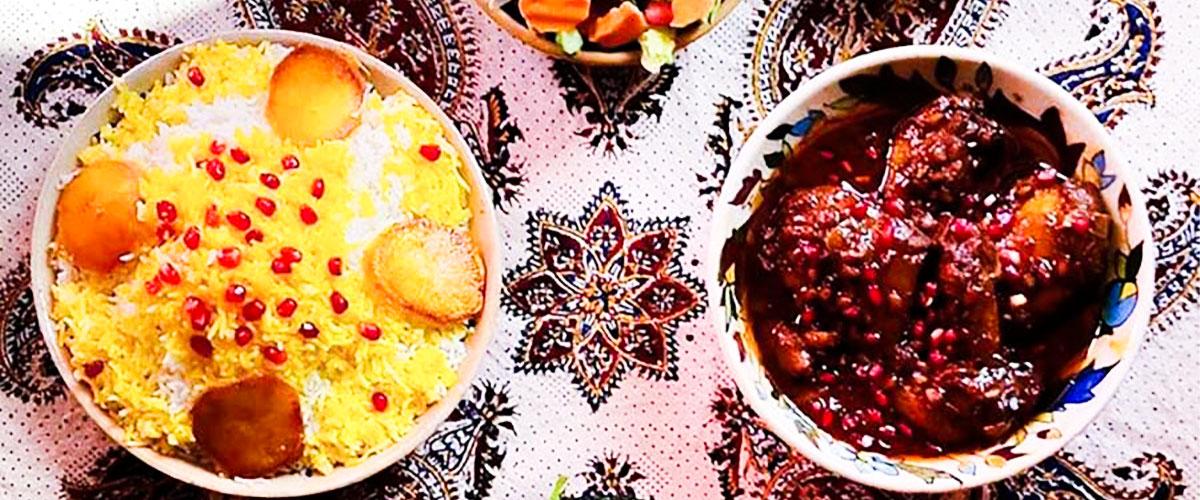 غذاهای سنتی خورشت ناردون