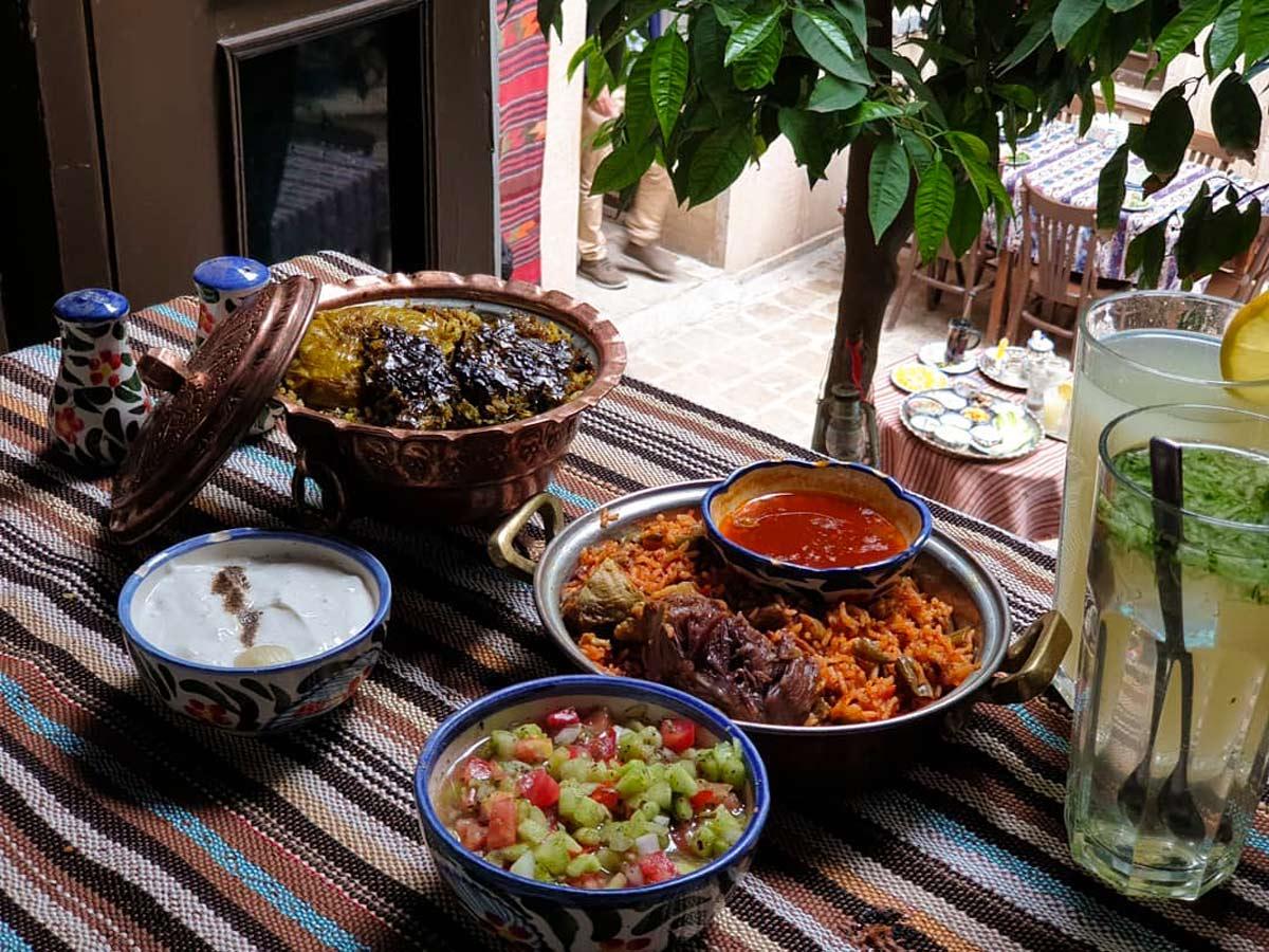 رستوران های محلی شیراز