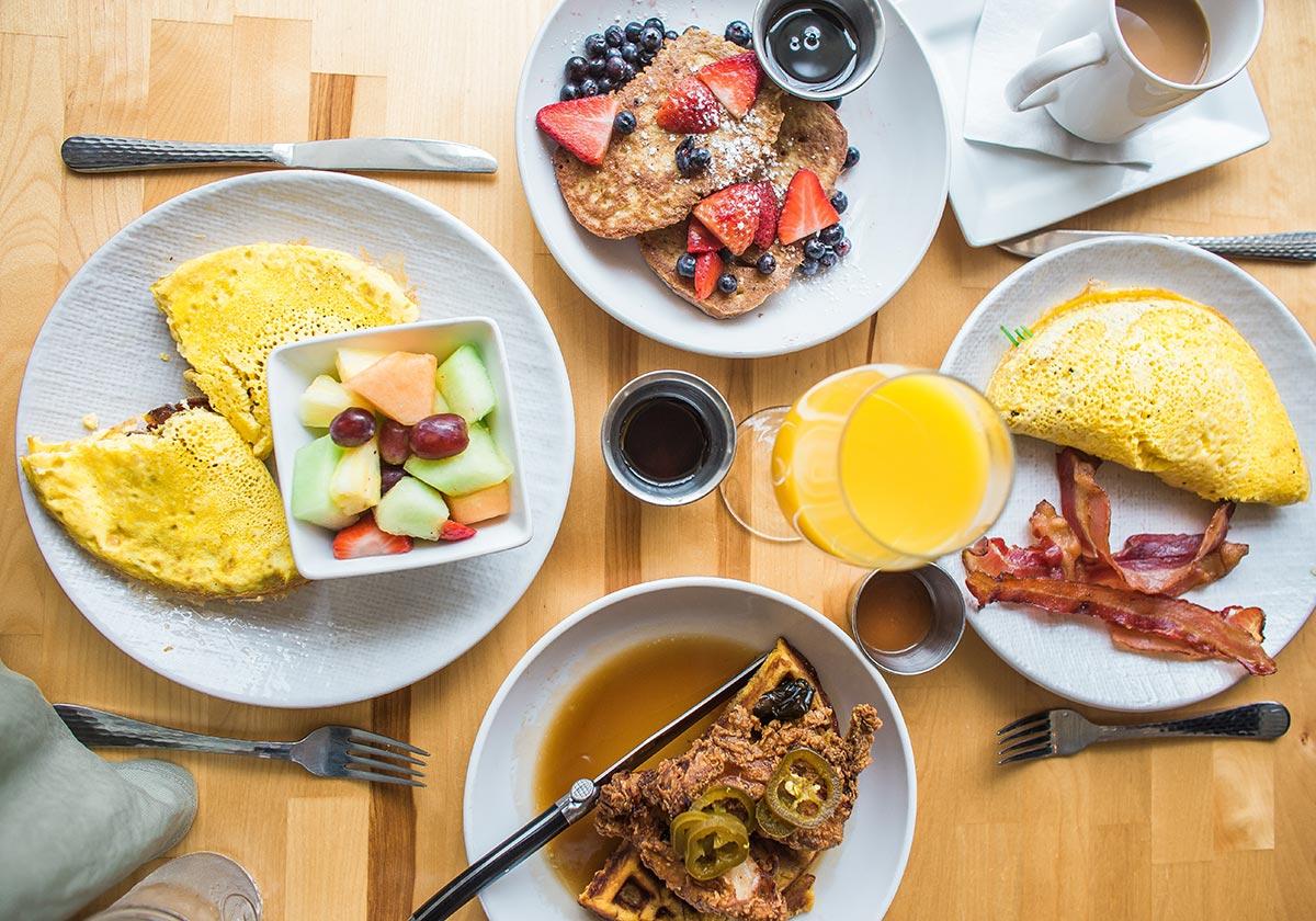 انواع صبحانه به سبک هتل