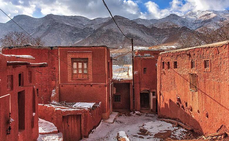 ابیانه خاص ترین روستاهای ایران