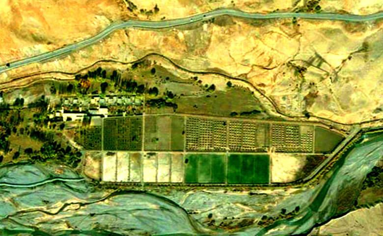 روستای بدون تکنولوژی در ایران