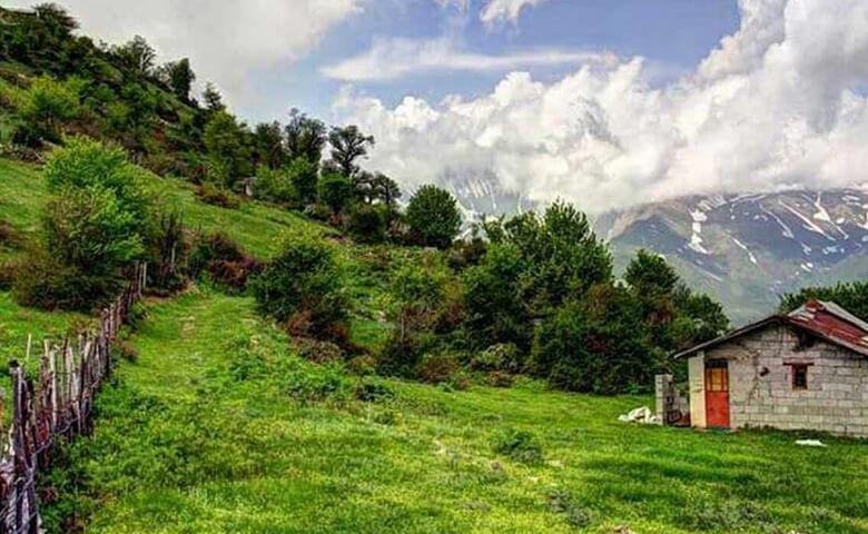 زیباترین روستاهای مازندران