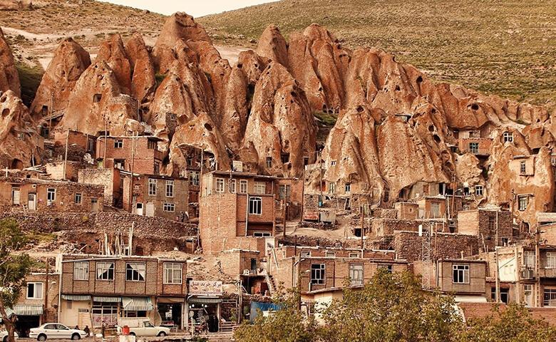 کندوان عجیب ترین روستای ایران