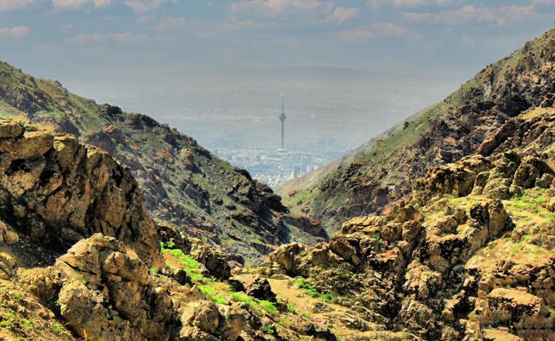 کوهنوردی در دربند تهران