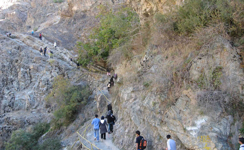 مسیر کوهنوردی فرحزاد